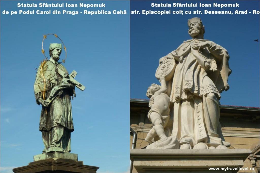 Sfântul Nepomuk Praga şi Arad