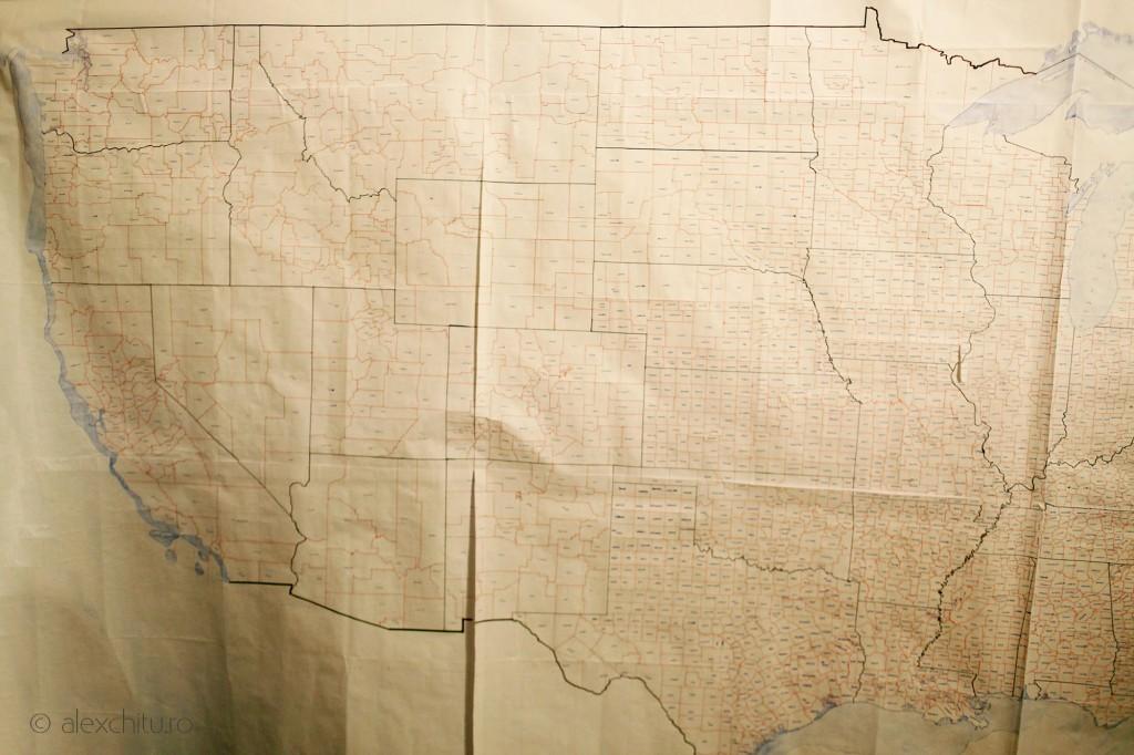 Harta comitatelor Statelor Unite ale Americii