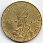 Monedă Janosikov Dukat din 1713.