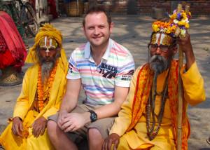 Robert Rosenthall în Nepal