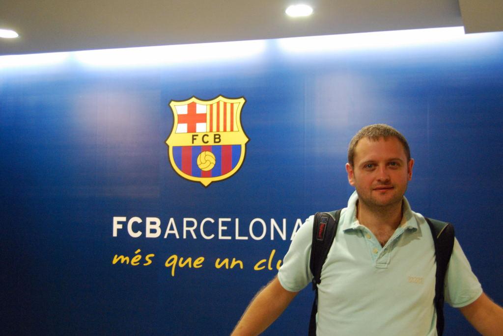 Visiting FC Barcelona